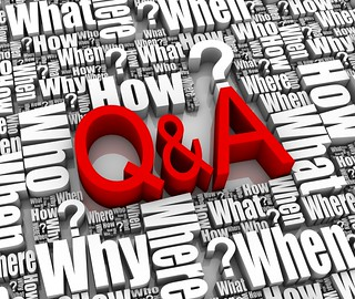 interview, Q&A image