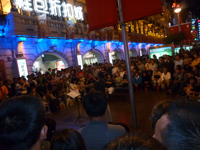 Musicians at Nanjing East Road