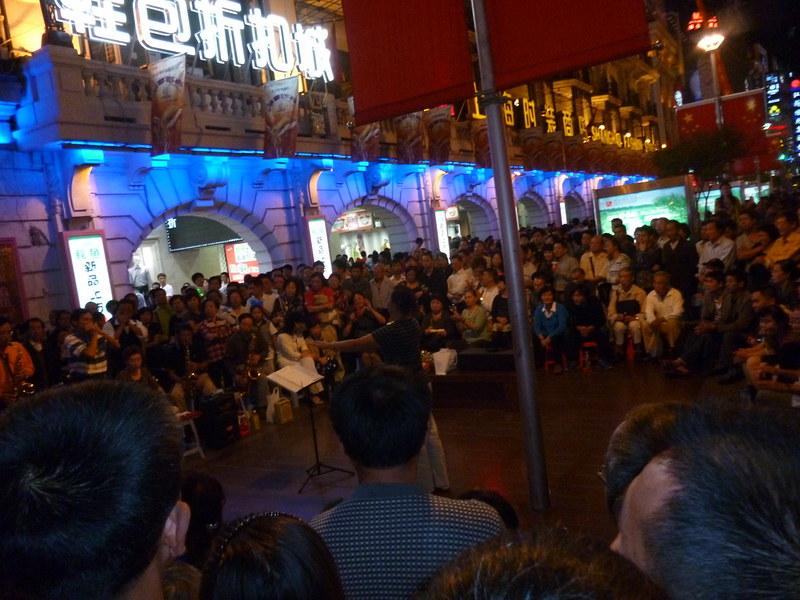 Musicians at Nanjing East Road