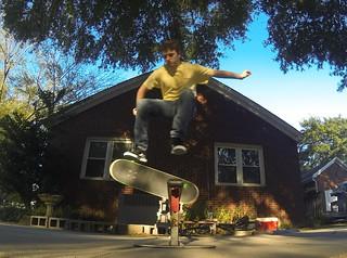 Philip on His Skateboard-003