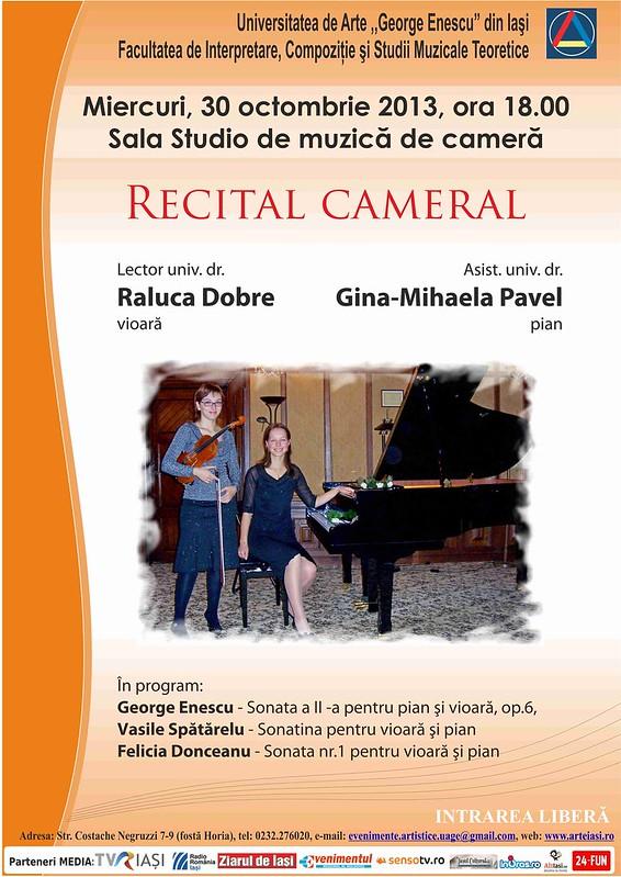 2013.10.30.Recital Raluca Dobre - Gina Pavel