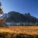 Yosemite Valley Fog in Moonlight