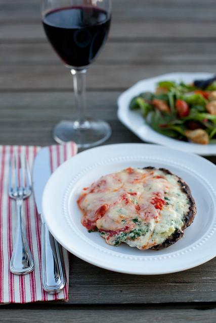 Lasagna-Stuffed Portabellos