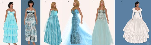 Frozen Hunt Gowns