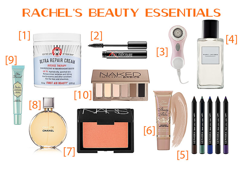 Rachel's Beauty Favorites