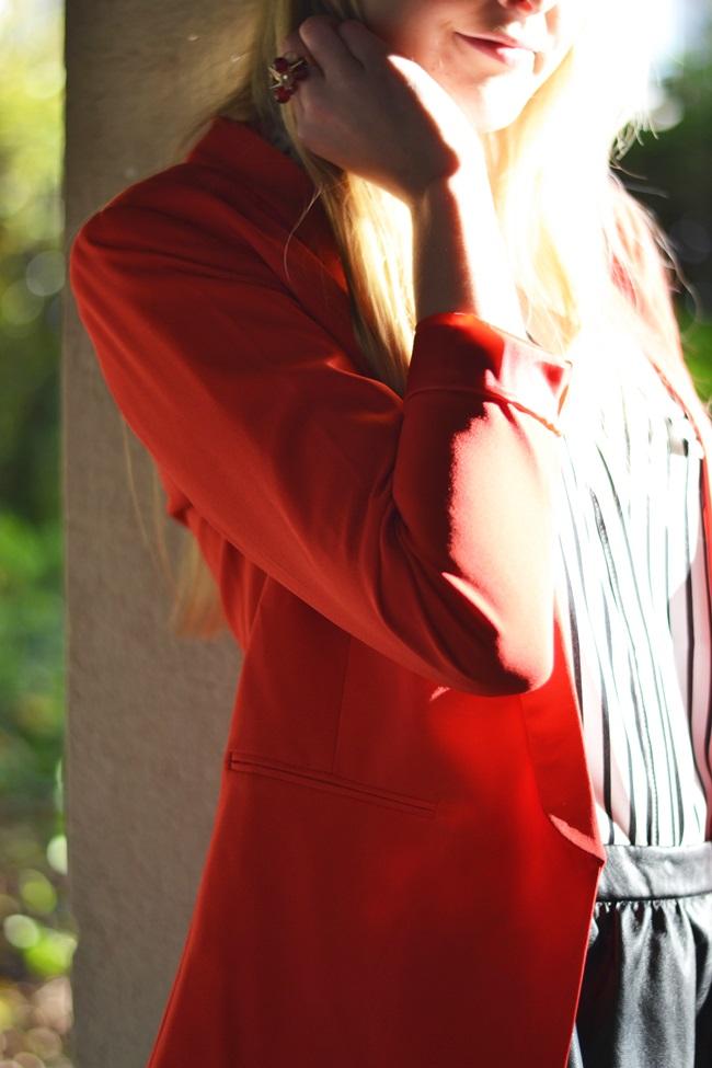 Outfit der rote Blazer (2)