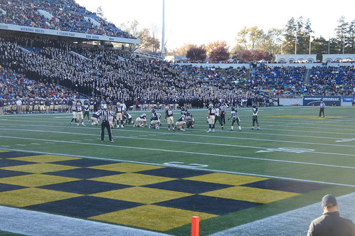 Navy football game