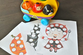Dot Marker and Halloween printables