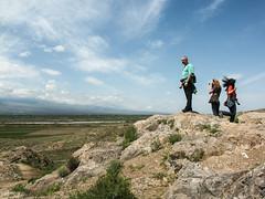 The Ararat plain and the Arax (or Arakas) river around Khor Virap monastery.
