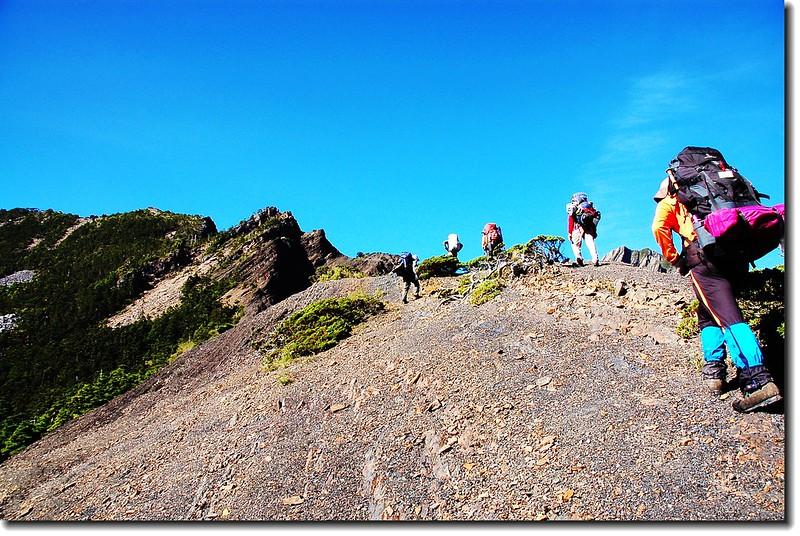 巴紗拉雲~布秀蘭山間瘦稜 1