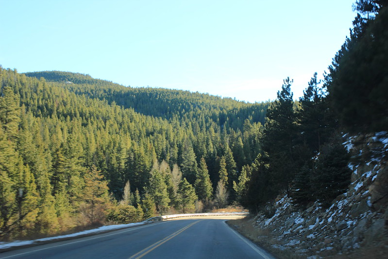 On the road from Boulder to Nederland