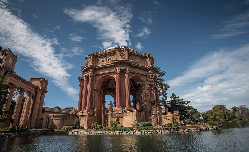 Palace of fine arts, SF , Emerald City versus City By The Bay