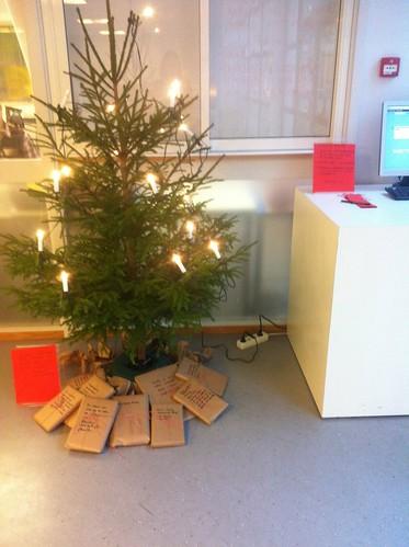 Jul i skolebiblioteket