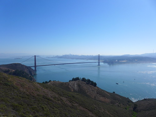 Golden Gate Bridge from Hawk Hill