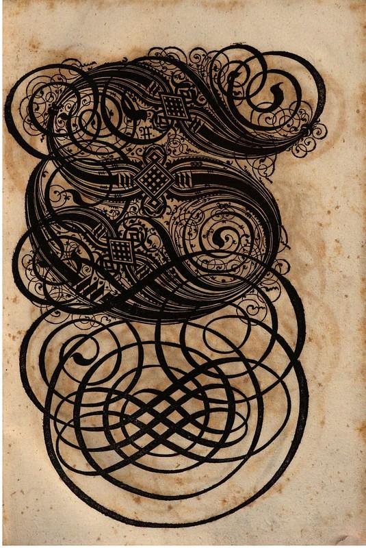 Paulus Franck - 'Schatzkammer Allerhand Versalien Lateinisch vnnd Teutsch', 1601 alphabet l