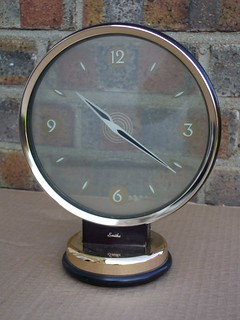 Art Deco Modernist Smiths Clock Mystery Movement Car Boot Sale Find Summer 2012