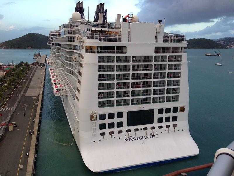 Norwegian Epic In St Thomas Dec 11 2013 Cruise