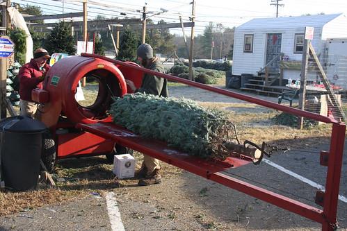 Howey Christmas Tree Baler
