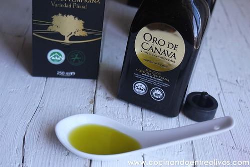 Oro de Cánava www.cocinandoentreolivos.com