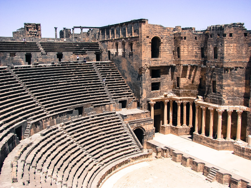 Anfiteatro de Bosra
