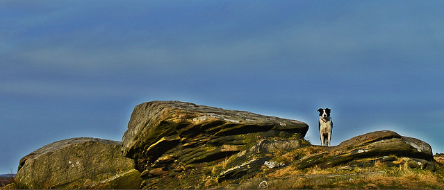 king of stanage edge