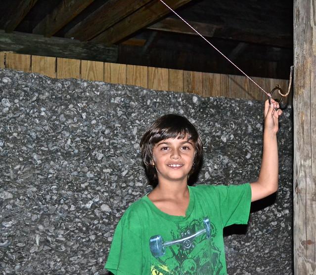kid having fun at taberna del caballo st agustine fl