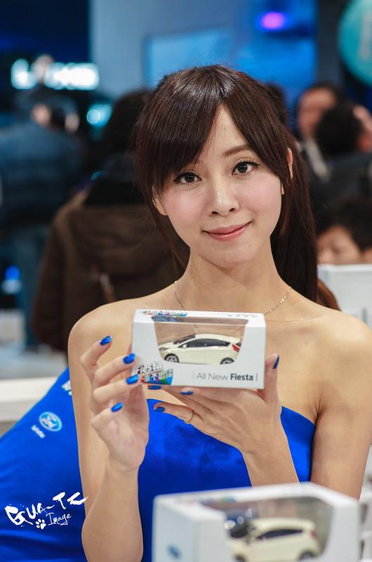 2014台北車展車模