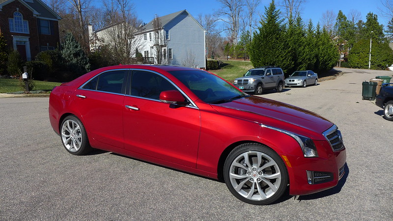 Paint Enhancement New Cadillac Red Ats