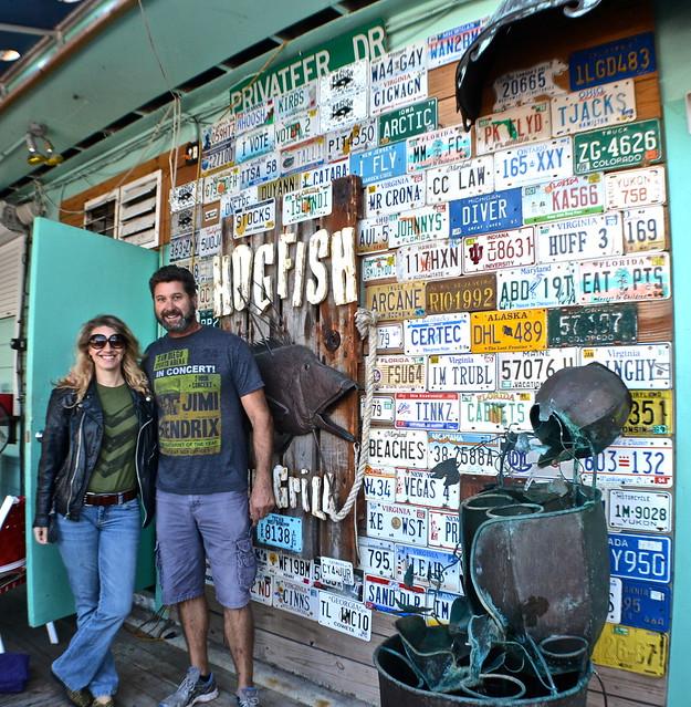 Hog Fish Bar and Grill - Key West, Florida - entrance