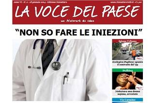 Noicattaro. Prima Pagina 18 Gennaio front