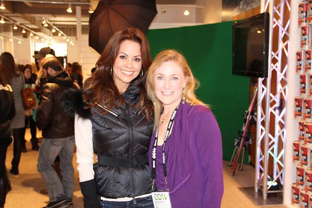 Brooke Burke and Jill Adler