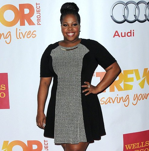 Glee star Amber Riley sells clothes from her own closet