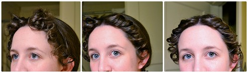 Pincurl result, 16th Century Italian Braids and Curls on MorganDonner.com