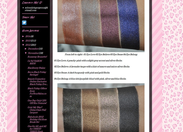 So Lonely in Gorgeous One for All, and All for THREE! THREE Flash Performance Eyeliner Pencil Swatches - Mozilla Firefox 01.02.2014 230548