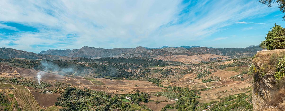 RONDA Sierra de las Nieves- red