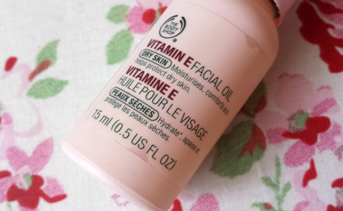 Review | The Body Shop Vitamin E Facial Oil