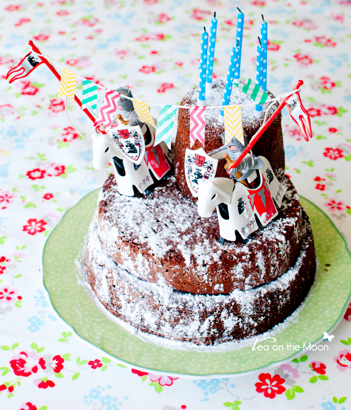 Cumpleaños caballeros pastel