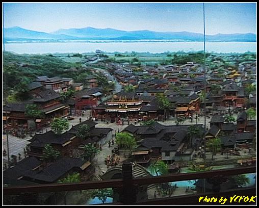 杭州 吳山天風景區 - 061 (城隍閣 內的南宋時期的杭州風情軟木立體畫))