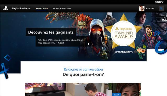 Screenshot Forum FR
