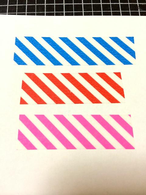 カラーバリエーションテープ1