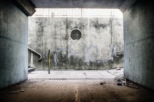 uk england urban underpass subway landscape graffiti unitedkingdom urbandecay hampshire fujifilm 365 southampton millbrook hdr x100 project365 fujifilmx100