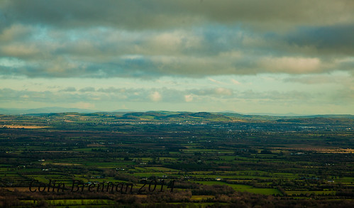 ireland mountains green beauty clouds canon landscape view ridge fields laois cappard