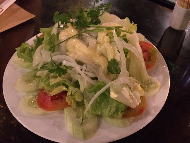 Assorted salad with garlic and vinegar - Nha Hang Ngon