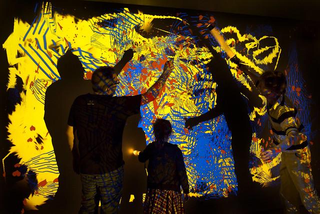 loplite muchomedia installation interactive