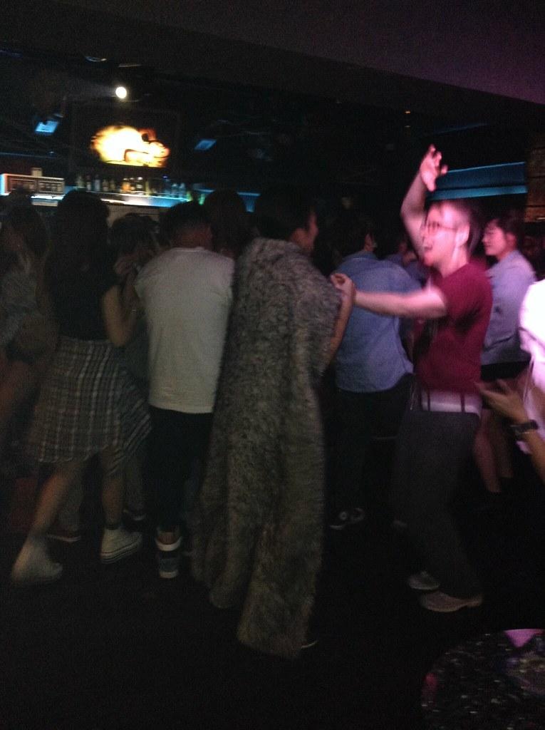 Dancing at Taboo