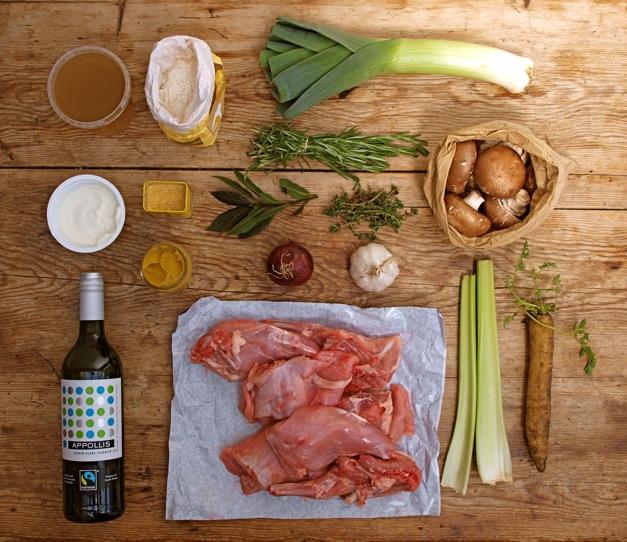 bunny ingredients