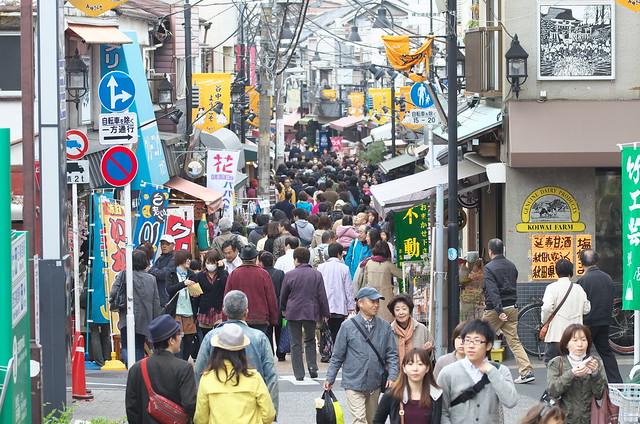 東京路地裏散歩 谷中銀座商店街 2014年4月20日