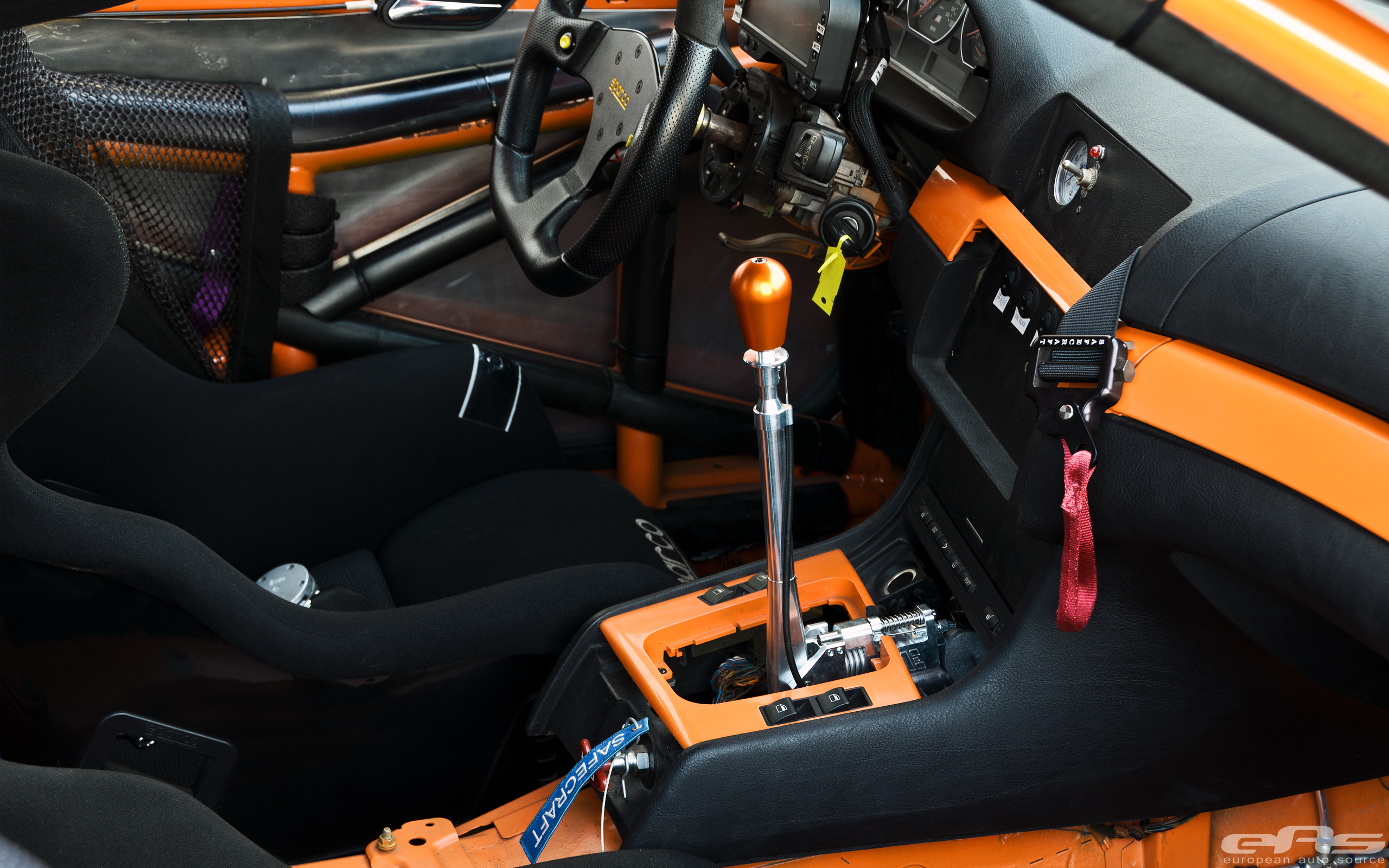 Cae Ultra Shifter Installed In E46 M3 Race Car Bmw