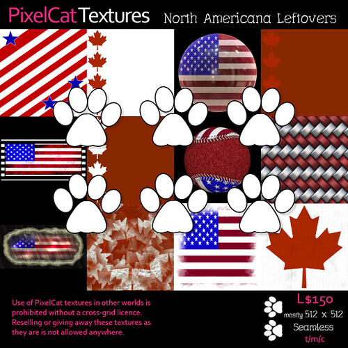 PixelCat Textures - North Americana Leftovers