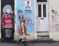 street artist(0.0), art(1.0), street art(1.0), road(1.0), mural(1.0), graffiti(1.0), street(1.0), infrastructure(1.0),